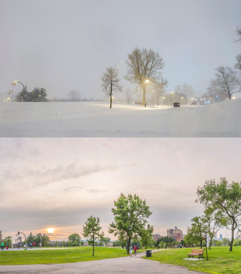 Les différences entre l'été et l'hiver